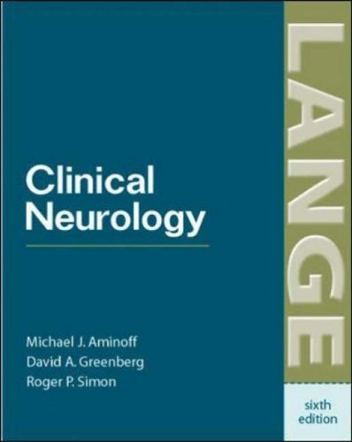Clinical Neurology (Lange Clinical Medicine) by Michael J. Aminoff (2005-04-01)