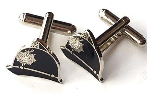 Personalizzato Casco Poliziotti Smalto Con pennacchio Gemelli