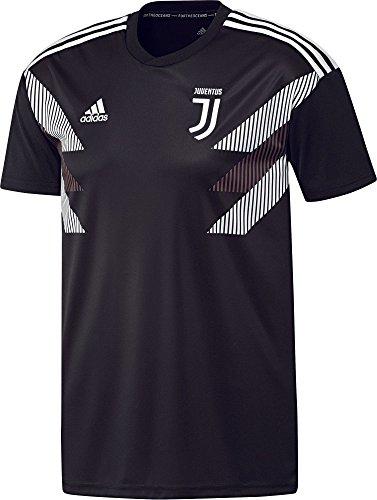 adidas Herren Juve H Preshi T-Shirt schwarz/weiß M