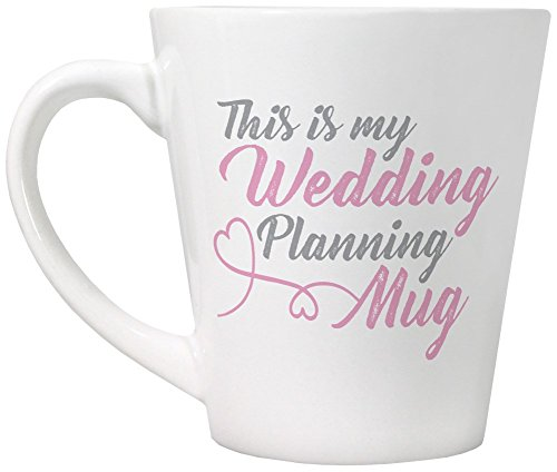 This Is My Wedding Planning Mug White Latte Mug