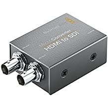 Blackmagic convcmic/HS Mini convertidor HDMI a SDI negro