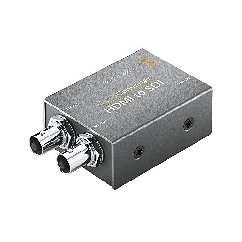Blackmagic CONVCMIC/HS - Micro Convertidor de HDMI a SDI, Negro