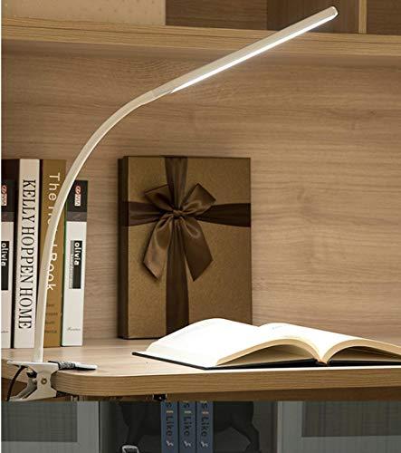 Usb Led Schreibtischlampe Druckschalter Clip 2 Ebenen Dimmen Augenpflege Studie Leselampe Einstecken Tischlampen Für Studentenwohnheim Schutz Flexible -
