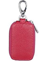 ASKYUN Smart Car Key Case Holder Zipper Vintage Universal Car llaveros para  hombres y mujeres 90a950cdc52