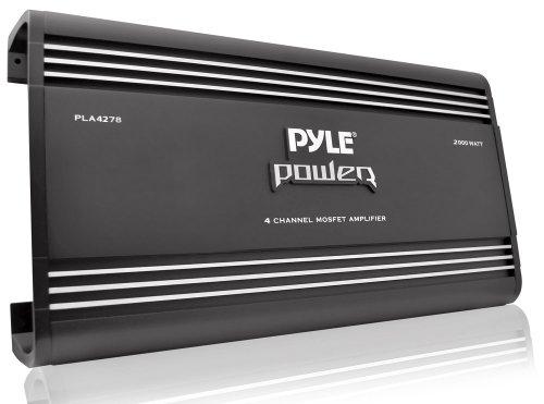 Pyle pla42782000W 4-Kanal Brückbarer Verstärker Mosfet 4 Ohm Auto-subs