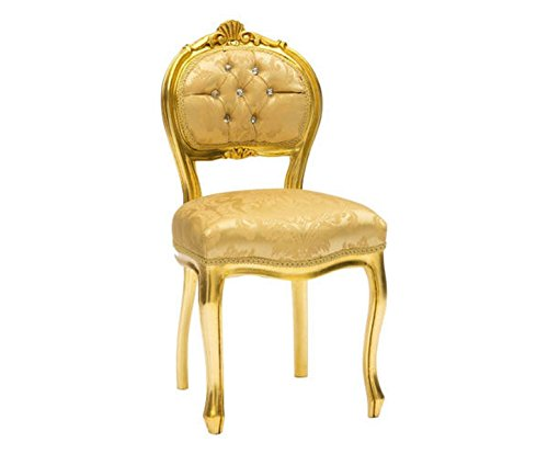 Chaise 'musicien' Baroque or