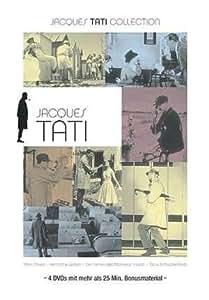 JACQUES TATI Collection Coffret 4 DVD Jour De Fête - Mon Oncle - Playtime - Les Vacances De Monsieur Hulot [IMPORT - ALLEMAND]