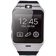 Teléfono Lacaca Aplus GV18 Bluetooth GSM NFC Cámara impermeable del reloj inteligente para el iPhone 4/4s/5/5s/6/ 6s 6 6s además,iPad 3/4/5/6 Plus,Andriod Samsung,HTC,Sony,LG,Huawei,ZTE,OPPO (negro)