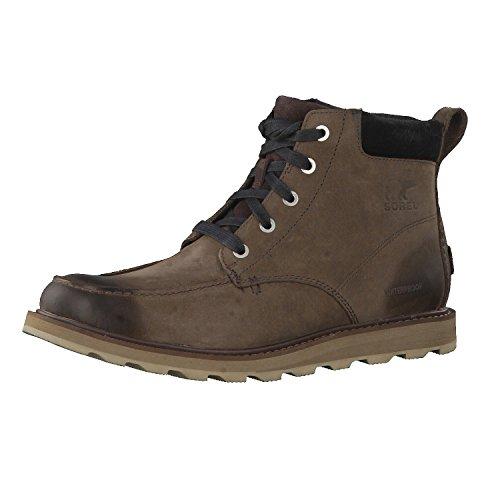 Sorel Men's Madson Moc Toe Waterproof Classic Boots, Brown (Bruno, Black), 7...