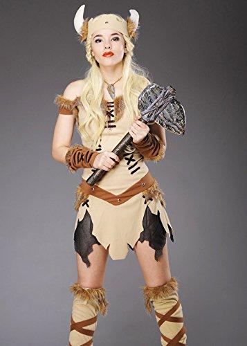 Erwachsene Frauen Viking Prinzessin Kostüm