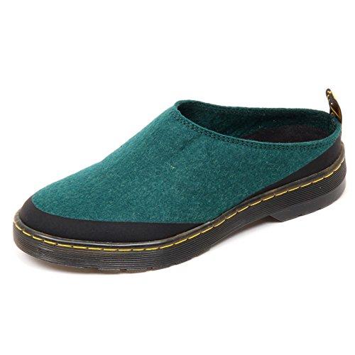 D1734 Sabot Donna Dr. Martens Elysia Chaussure Scarpe Verde Femme Verde