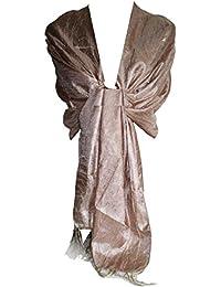 GFM de Koolart, efecto de seda bufanda Wrap chal Damas de Honor Novia Evening Wear o uso diario colores disponibles