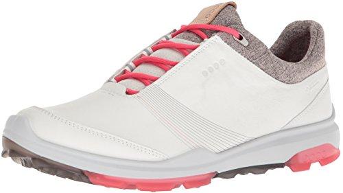 Ecco Damen Women Golf Biom Hybrid 3 Golfschuhe, Elfenbein (White/Teaberry 58365), 36 EU