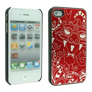 iSkin Aura year of the Dragon - fundas para teléfonos móviles Rojo