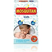 MOSQUITAN Mosquito Patches Deet Free Perfect for Kids - Pack of (Childrens Naturali Mobili)