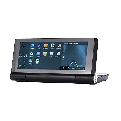Einem Blatt GPS Dash Cam HD Video 3G GPS Navigator Global Map 140° FM-Radio zyklische Aufnahme Wifi Auto DVR Record mit Touchscreen Global Navigator