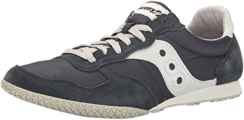 Saucony Originals Men'S Bullet Classic Sneaker, Navy/Grey, 45 D(M) EU/10 D(M) UK