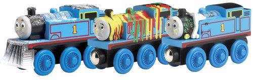 Thomas & Friends Wooden Railway Set - Adventures of Thomas 3-Car Pack