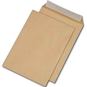 500 Enveloppes C4 229 x 324 mm HK sans fentêtre brun