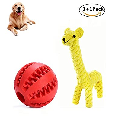 Emwel Small Dog Toys Squeaky Dog Toys Pets Squeaky Toy, 6 PCs Plush Puppy Toys for Small Medium Dogs