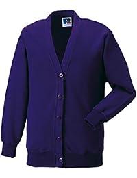 Unisex Mädchen Jungen Schule Uniform School Wear Jerzees Schoolgear Cardigan Sweatshirt New