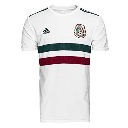 adidas Mexico Replica Away Jersey  Children s  BQ4687  White Cgreen Cburgu  128 0