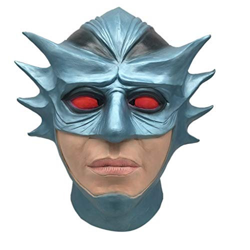 TianranRT Cosplay Meister Schmelzen Gesicht Latex Kostüm Sammlerstück Requisite Unheimlich Maske Spielzeug