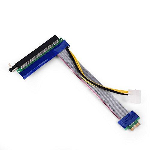 Preisvergleich Produktbild PCI-E-VGA-Karten-Verlängerungskabel 1X / 4X / 8X / 16X-Stecker auf Buchse für die PCI-E-Steckplatzerweiterung von 1U