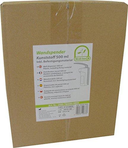 500 ml Wandspender Wandhalter + Zubehör - 5