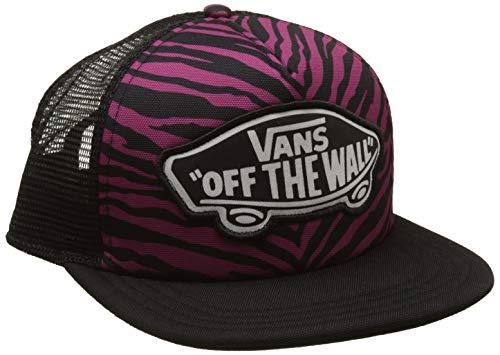Vans_Apparel Damen Baseball Cap Beach Girl Trucker HAT, Mehrfarbig (Magenta Haze Zebra Rhm), One Size