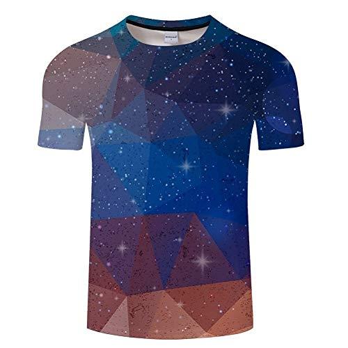 rt 3D T-Shirt Argyle Farbblöcke Drucken Männer Frauen T-Shirts Sommer Kurzarm Lustiges T-Shirt Homme Underwear Asiatische Größe S-6Xl ()