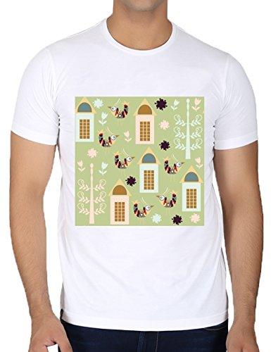 camiseta-blanca-con-cuello-redondo-para-los-hombres-tamano-m-patron-de-las-aves-by-luizavictorya72