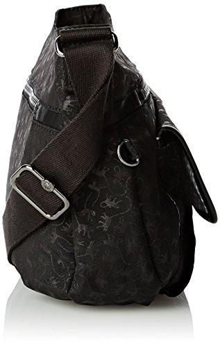 Kipling Syro Mm, Sacs portés épaule Noir - Black (Black Mm)