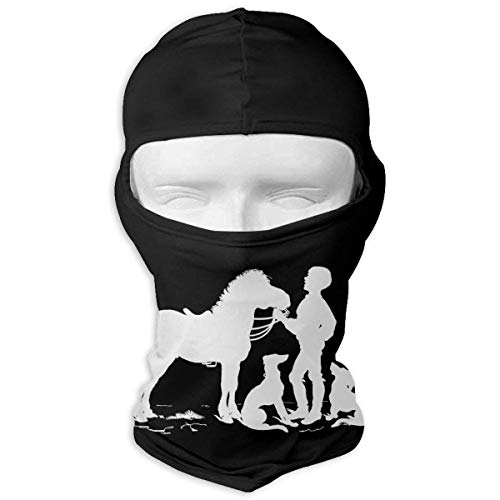XIUZHIZH Yes, I Really Do Need All These Horses Dogs and Cats Full Face Mask Hood,Outdoor Cycling Ski Motorcycle Balaclava Mask