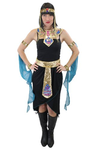 DRESS ME UP - Kostüm Damenkostüm Cleopatra Kleopatra Ägypterin 20er Jahre Hollywood Diva Gr. ()