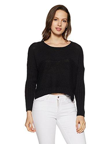 Roxy Damen Sweater True J SWTR, schwarz, L -