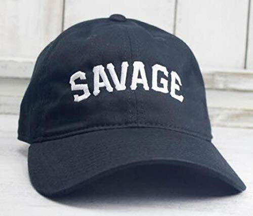 capswhh Savage Real Friends Heart Break Lit Space Jam Bryson Tiller Cappello Hip Hop Baeball cap Uomo Donna Moda Cappelli papà @ Savage Navy