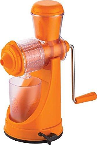Kitchen India™ Fruit & Vegetable Manual Juicer With Steel Handle Polypropylene Hand Juicer