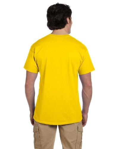 Gottesanbeterin auf American Apparel Fine Jersey Shirt Yellow