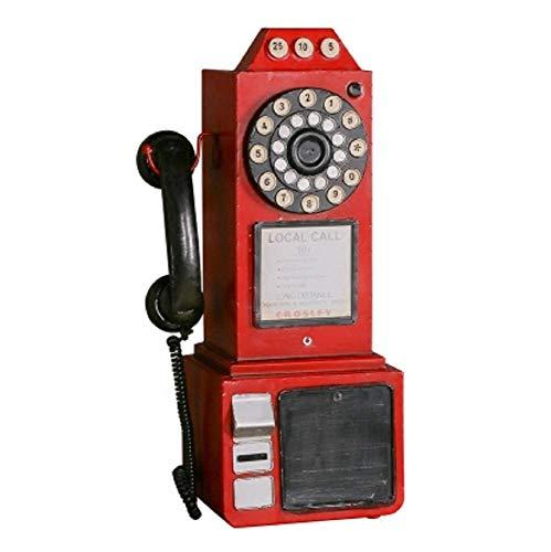 SD&EY Retro Vintage Modelo De Teléfono De Pared Bar
