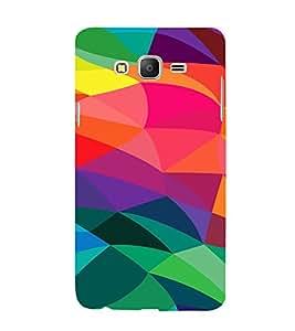 PrintVisa Modern Digital Art Pattern 3D Hard Polycarbonate Designer Back Case Cover for Samsung Galaxy On 5