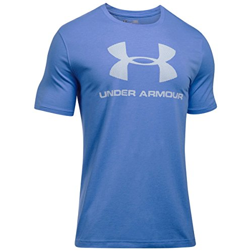 Under Armour Cc Sportstyle Logo Herren Fitness - T-Shirts Water Medium Heather