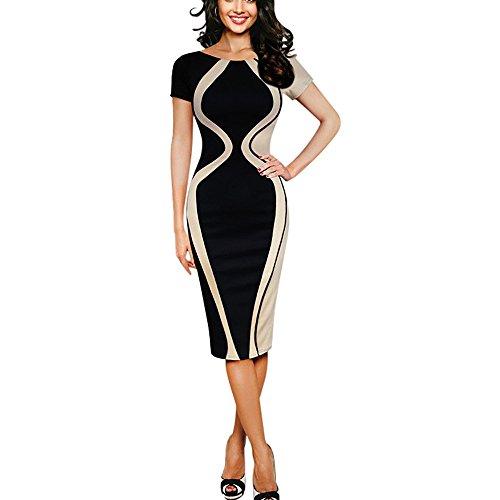 Vestidos de Fiesta Mujer Elegante, Vestido Ajustado para Mujer Sexy Mini Vestido...