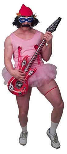 Cheech & Chong Cheech Pink Tu Tu Costume Set Adult Standard