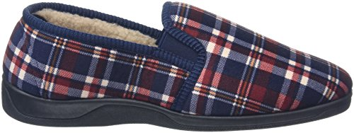 Dunlop Allard, Chaussons homme Rouge (Wine Check)