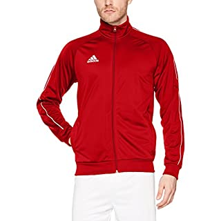 adidas Men's Core 18 Jacket, Power Red/White, X-Large