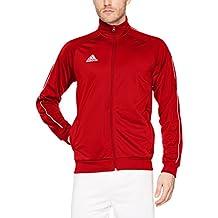 adidas Core18 Pes Sudadera, Hombre, Rojo (Rojo/Blanco), M