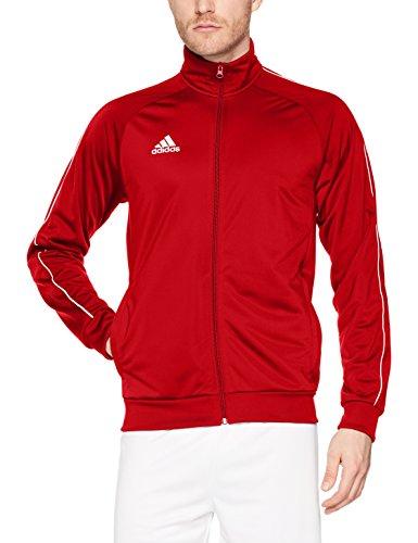 adidas Core18 PES Jkt Chaqueta, Hombre, Rojo (Rojo/Blanco), M