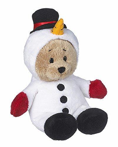 Wee Bears Costumed Teddy Bear: Snowman - By Ganz by Ganz - Ganz Wee Bear