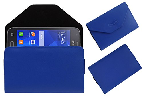 Acm Premium Pouch Case For Samsung Galaxy S Duos 3 Sm-G313hu Flip Flap Cover Holder Blue  available at amazon for Rs.179